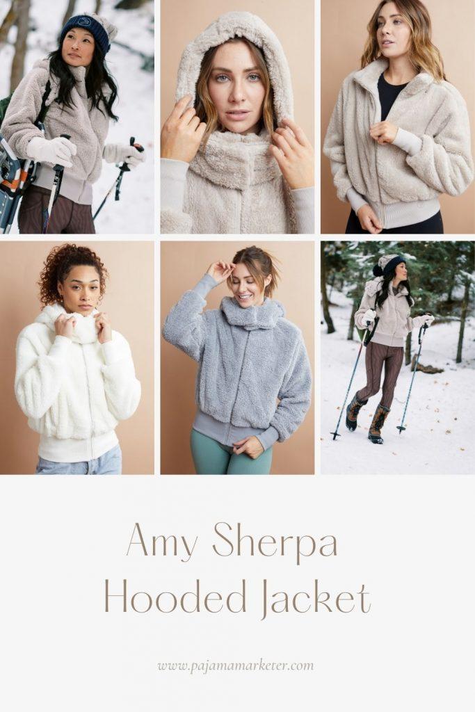 Amy Full Zip Sherpa