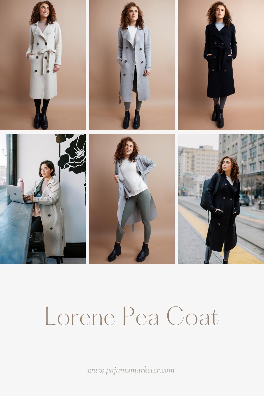 Lorene Pea Coat